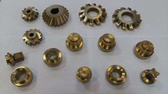 Нанесение нитрид-титанового покрытия на детали